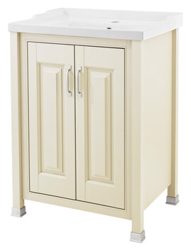 Old London 600mm Vanity Unit With Inset Basin