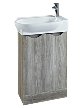 Boston 570mm Vanity Unit With Basin Avola