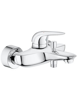 Eurostyle Wall Mounted Single Lever Bath Shower Mixer Tap