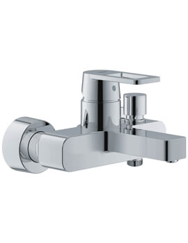 Quadra Single Lever Bath Shower Mixer Tap Without Kit