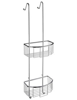 Smedbo Sideline Double Shower Basket - Image