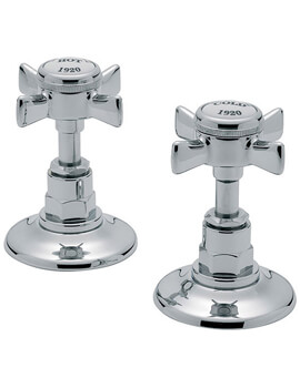 Imperial Chrome 1-2 Inch Pair Of Side Valve