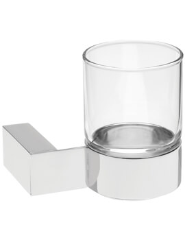 Edge Wall Mounted Single Glass Holder