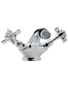 Imperial Chrome Mono Bidet Mixer Tap With Pop Up Waste