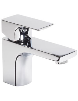 Siren Mini Basin Mixer Tap With Click Waste