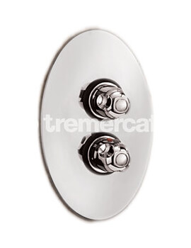 Roma Concealed Thermostatic Shower Valve