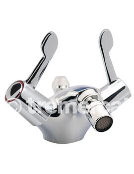Capri 3 Inch Lever Mono Bidet Mixer Tap And Pop Up Waste