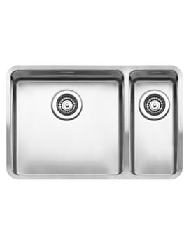 Reginox Ohio 653 x 440mm Integrated 1.5 Bowl Sink