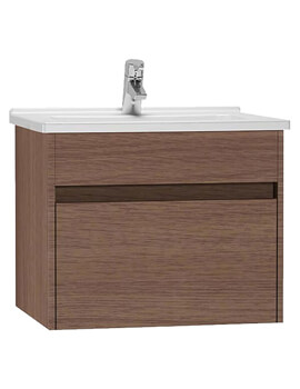 S50 600mm Wide Wall Hung Vanity Unit And Basin