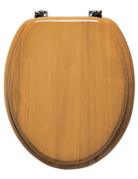 Roper Rhodes Malvern Solid Wood Toilet Seat Antique Pine