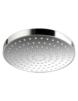 Beat 200mm Round Deluge Showerhead Chrome