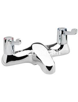 Capri 3 Inch Lever Deck Mounted Bath Filler Tap