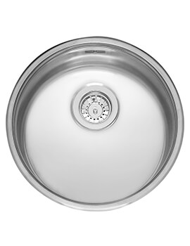 Single Bowl Stainless Steel Inset Kitchen Sink 440 x 160mm