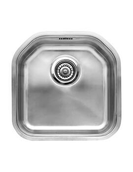 Reginox Denver 415 x 415mm Single Bowl Stainless Steel Integrated Sink
