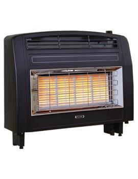Flavel Strata Electronic Top Control Outset Gas Fire Black