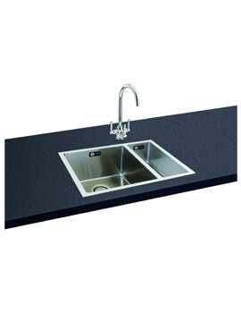 Franke Kubus Kbk 160 Ceramic 1 5 Bowl Undermount Kitchen