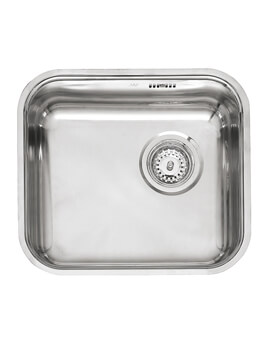 L18 Series 445 x 353mm Single Bowl Stainless Steel Integrated Sink