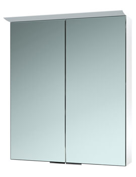 Saneux Glacier 2 Door Cabinet With Light And Shaver Socket