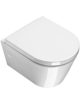 Saneux Jones Mini Wall Hung WC Pan