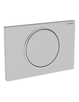 Sigma10 Lockable Single Flush Plate Stainless Steel
