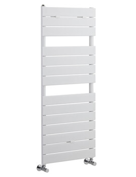 Flat Panel 500 x 1213mm Heated Towel Rail