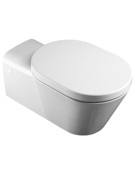 Saneux Community 370mm Wall Hung WC Pan With Seat
