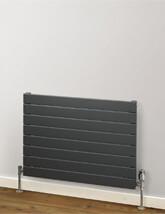 MHS Rads 2 Rails Primrose Single Panel 288mm Height Horizontal Radiator White