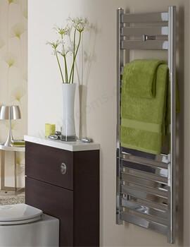 Essential Capricorn Straight Chrome Towel Warmer 500 x 720mm - 148254