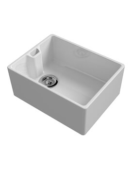 Belfast Contemporary Ceramic Inset Sink 595 x 455mm