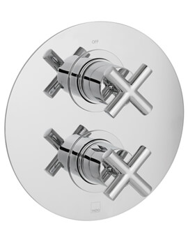 Element Concealed 1 outlet 2 Handle Thermostatic Shower Valve