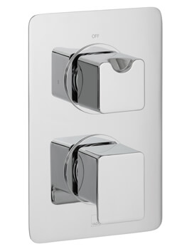 Phase Concealed 1 outlet 2 Handle Thermostatic Shower Valve