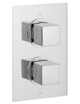 Mix Concealed 1 outlet 2 Handle Thermostatic Shower Valve