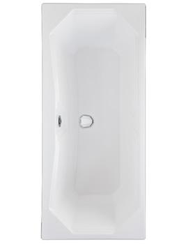 Highgate 1700 x 750mm Double Ended Carronite Bathtub
