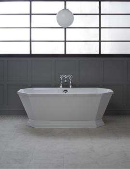 Highgate 1700 x 750mm Freestanding Carronite Bathtub