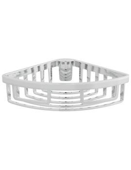 Removable Chrome Corner Basket