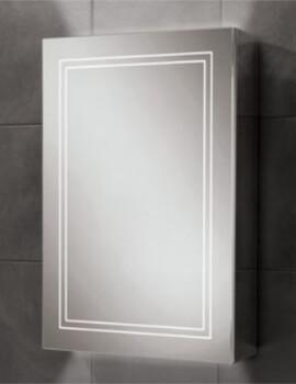 Edge 50 Single Door LED Illuminated Cabinet 500 x 700mm