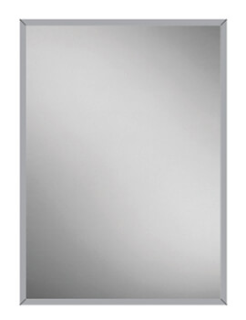 Essence 50 Single Door Recessed Aluminium Cabinet 530 x 730mm