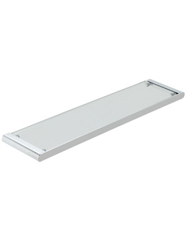 Photon 573mm Clear Glass Shelf
