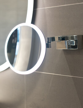 HIB Cirque 200mm Magnifying Mirror