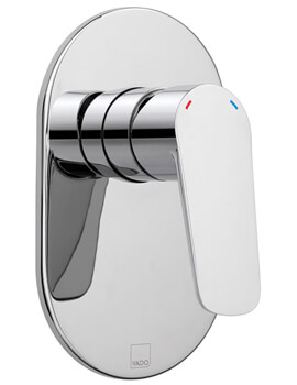 Photon Wall Mounted Concealed Shower Valve Without Diverter
