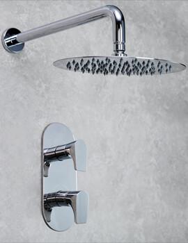 Bristan Hourglass Fixed Head Shower Pack