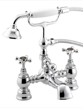 Trinity Bath Shower Mixer Tap With Handset And Hose