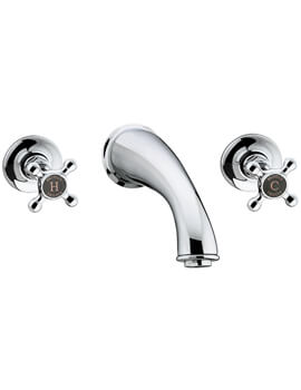 Trinity 3 Tap Hole Bath Filler Tap