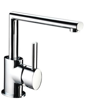 Oval Kitchen Sink Mixer Tap With EasyFit Base