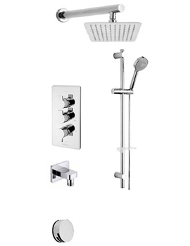 Angle Concealed 3 Way Diverter Valve And Shower Set-22193A