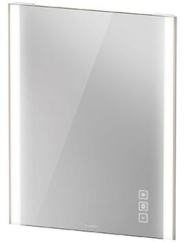 Duravit Xviu 800mm High Mirror With LED Lighting