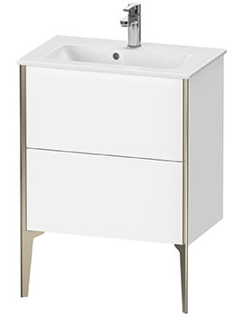 XViu Floor-Standing 2 Pull-Out Compartments Vanity Unit For ME By Starck Basin