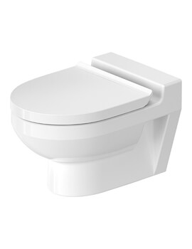 Duravit DuraStyle 325 x 480mm Wall Mounted Basic Rimless Toilet