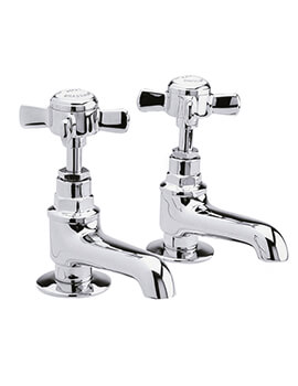 Beaumont Pair Of Basin Taps - I321XE