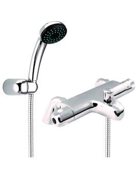 Dynamic Pillar Mounted Thermostatic Bath Shower Mixer Tap